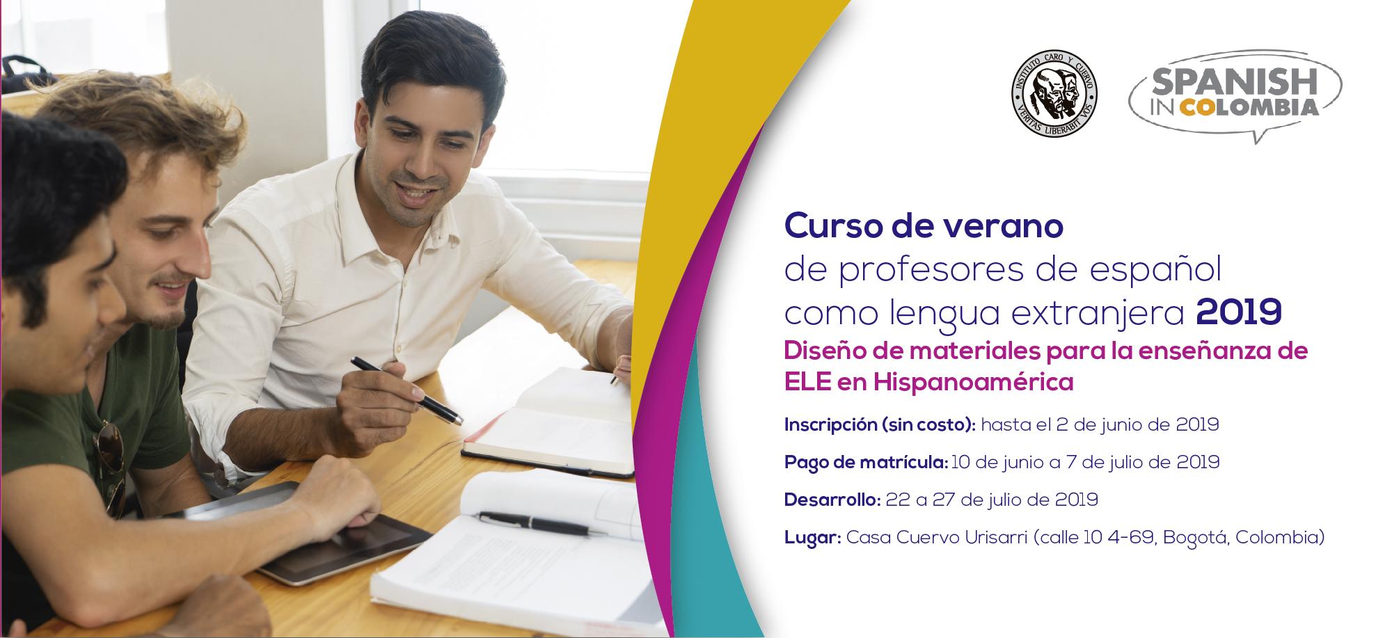 Curso de verano de profesores de español como lengua extranjera 2019
