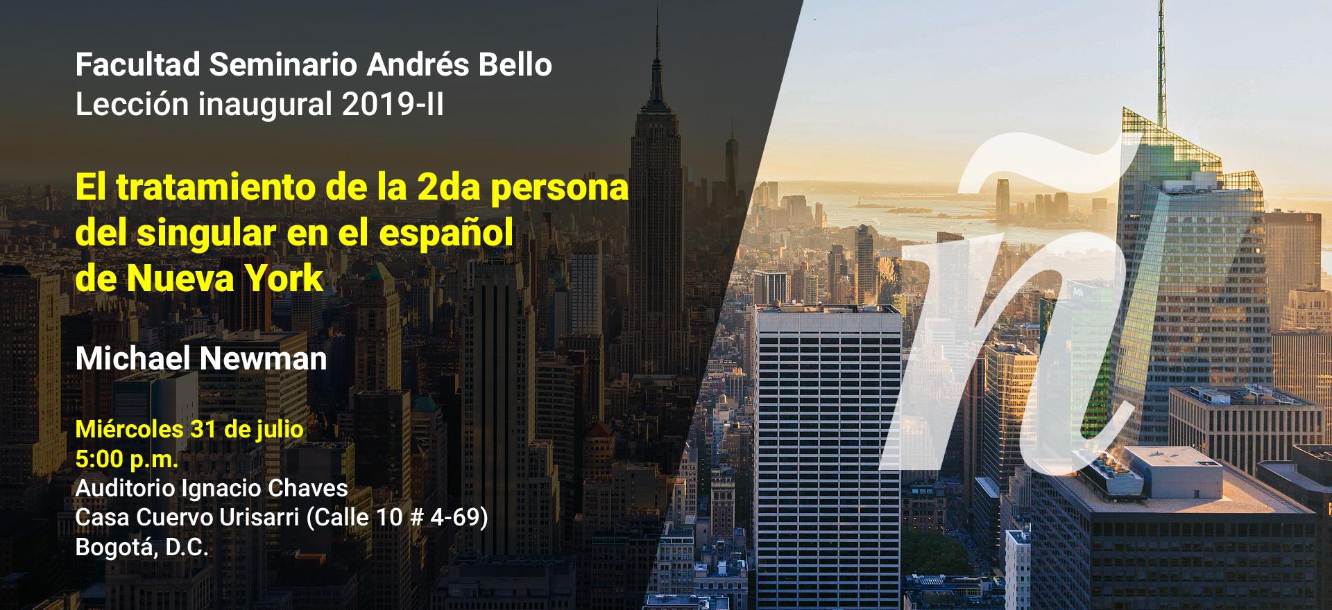 El tratamiento de la 2da persona del singular en el español de Nueva York