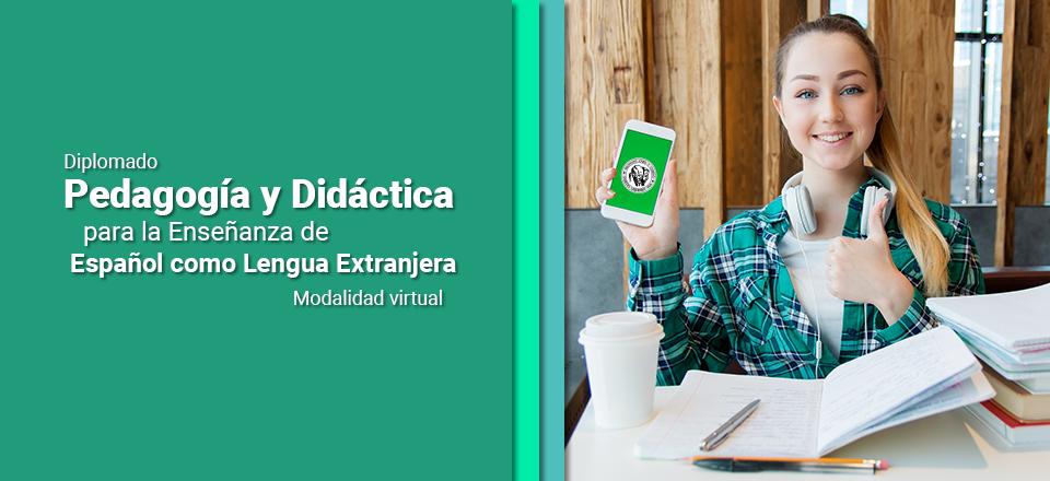 Noticia destacada Inscríbase al Diplomado: Pedagogía y Didáctica para la Enseñanza de Español como Lengua Extranjera - Modalidad virtual 2020-I