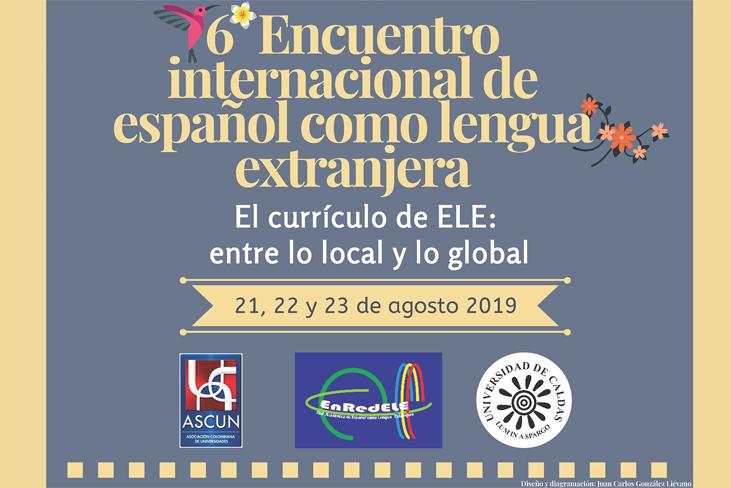 6° Encuentro internacional de español como lengua extranjera